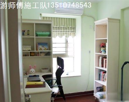 小工程,入户花园改成书房,10平米左右
