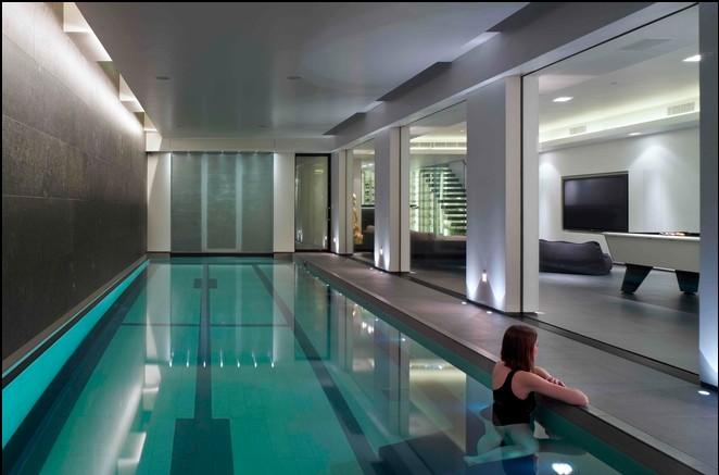 别墅地下室游泳池图片