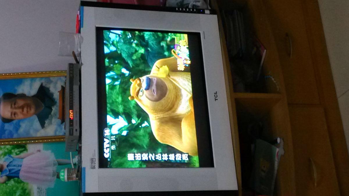 100元转台tcl29寸数字窗纯平电视机