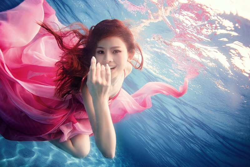 三亚水下婚纱照 - 家在深圳-房网论坛