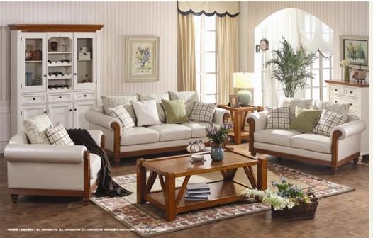 复试楼房装修田园样品-角落黒黑的没有装修,特卖田园沙发和白色韩式家具,欢迎网友前来淘