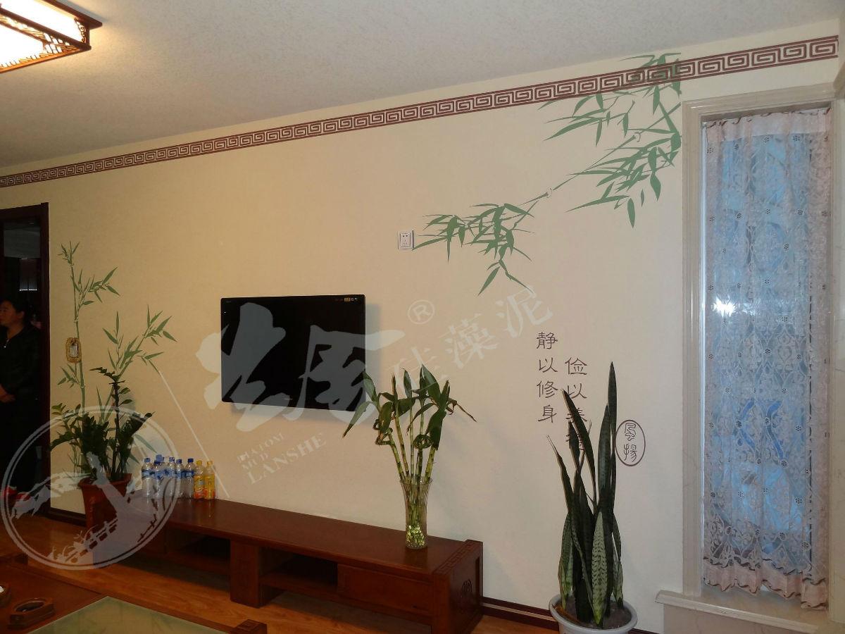 中式风格电视背景4_电视背景