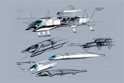 """""""超级高铁"""":比飞机还快"""