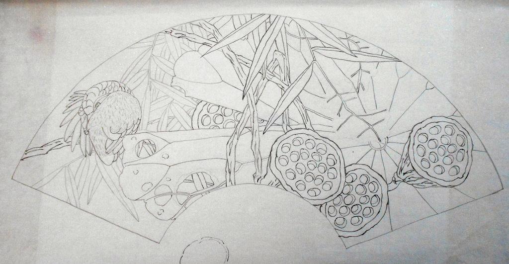 古筝图片唯美手绘