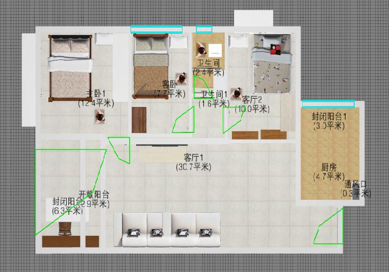 小户型大改造,装修 - 家在深圳