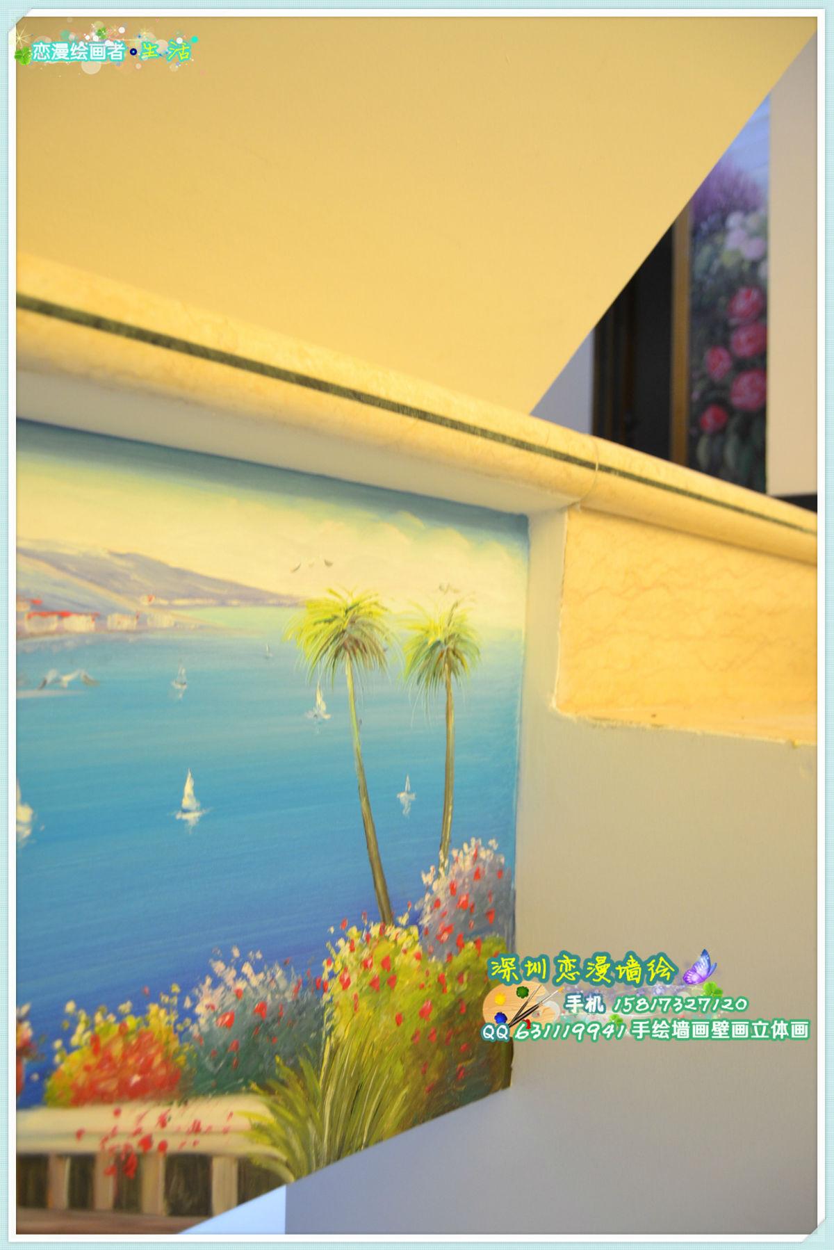 最新手绘墙画壁画墙绘作品