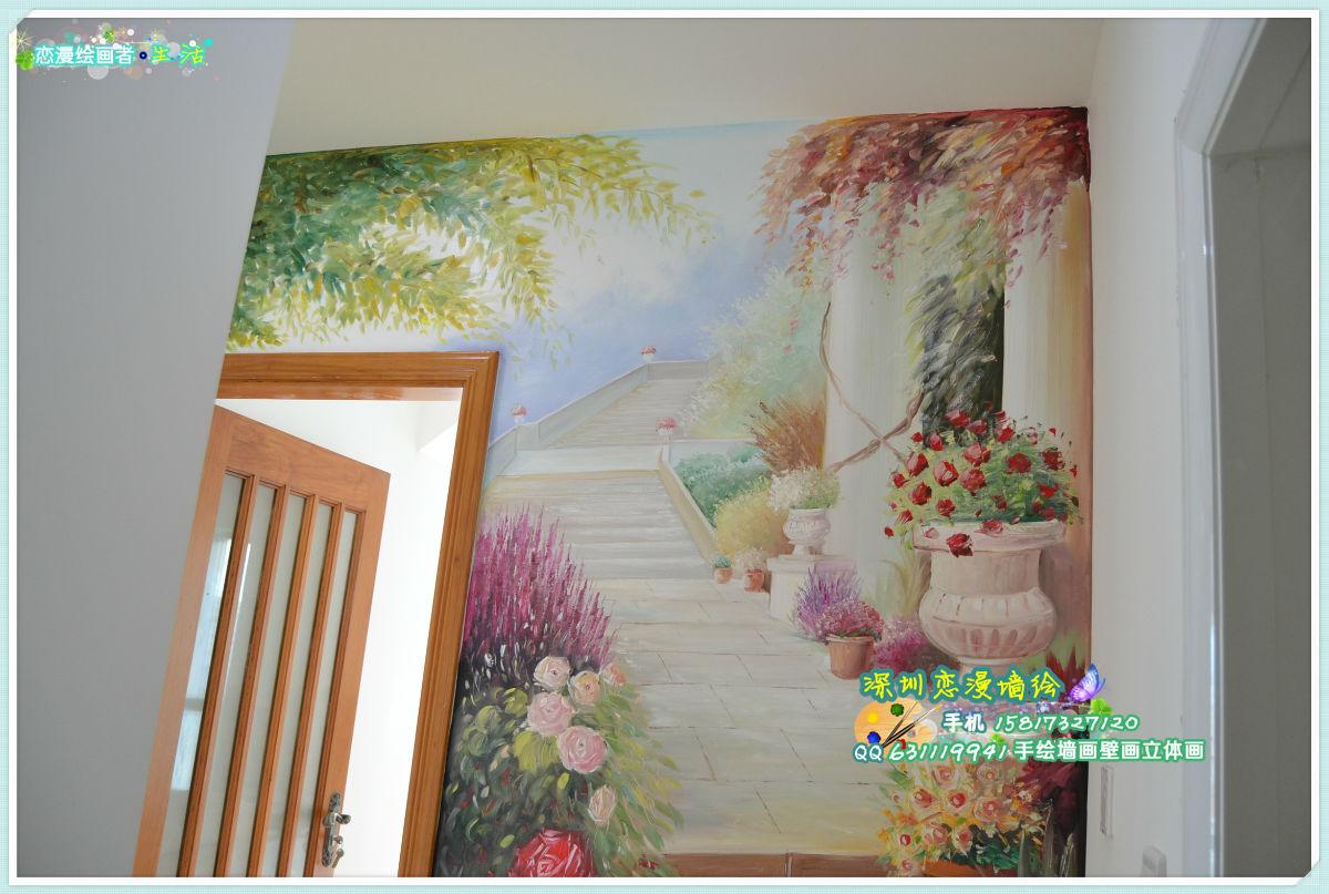 手绘墙画壁画