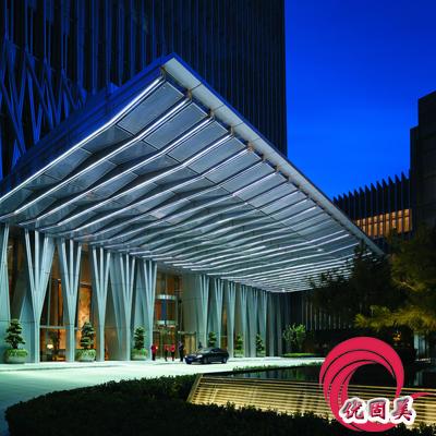优固美--深圳雨棚,钢结构雨棚,玻璃雨棚效果图