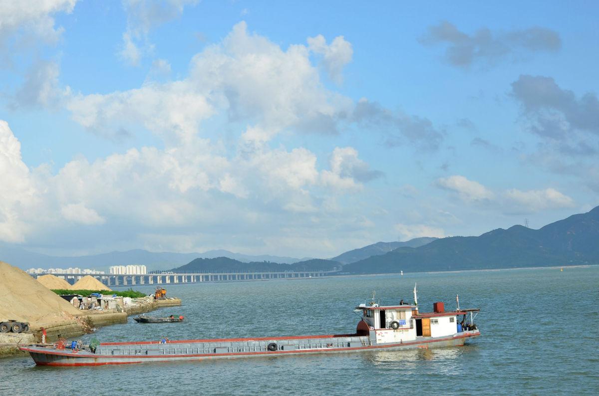 2013-8-20骑行深圳蛇口半岛城邦