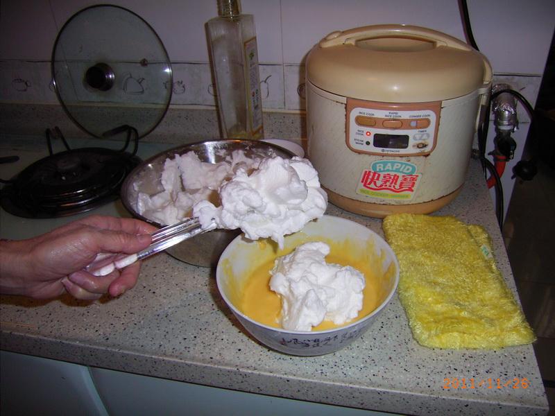 电饭煲做蛋糕方法