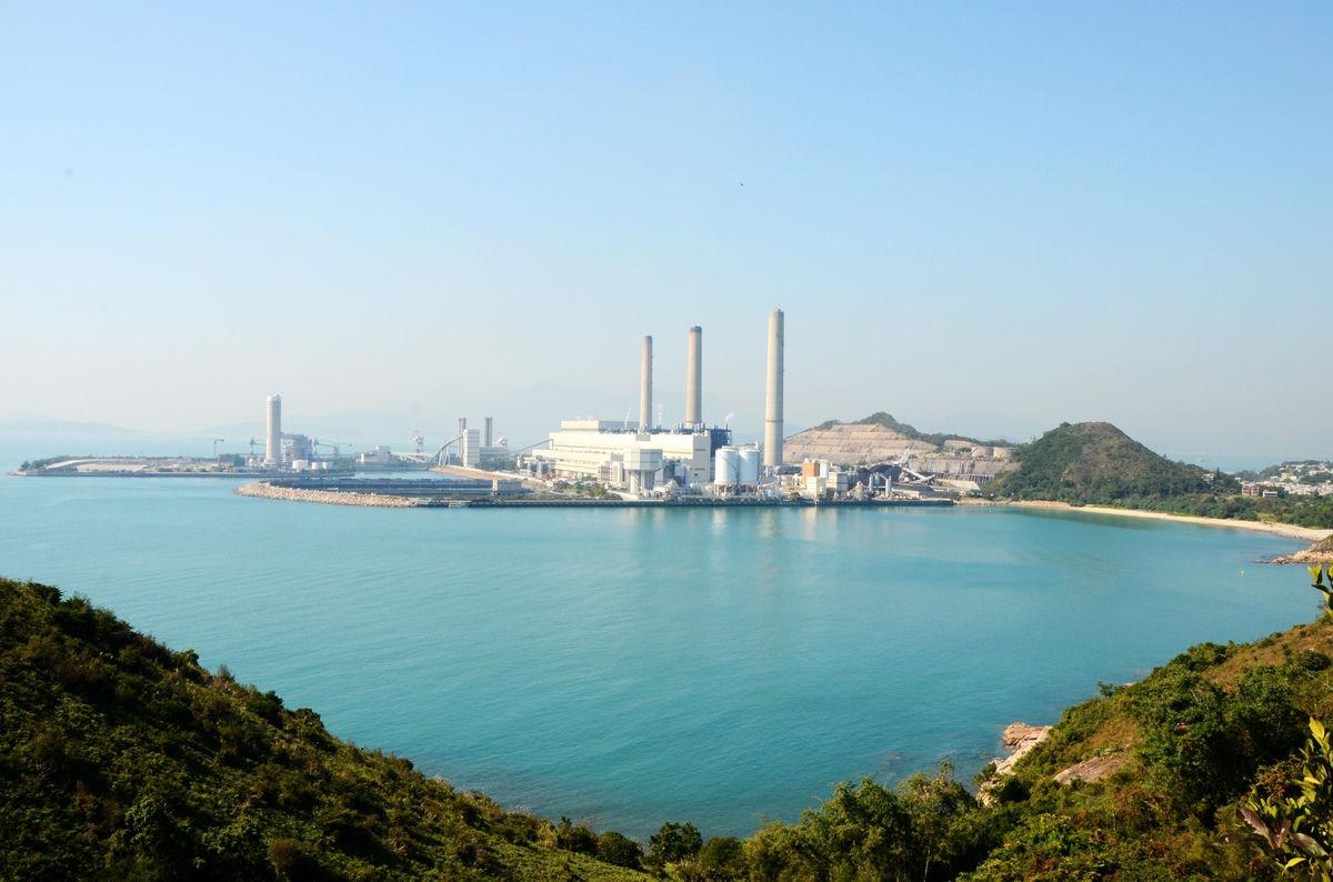 香港塔门岛,桥咀洲露营