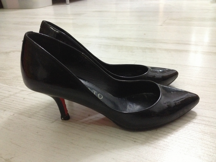 修鞋子步骤图片
