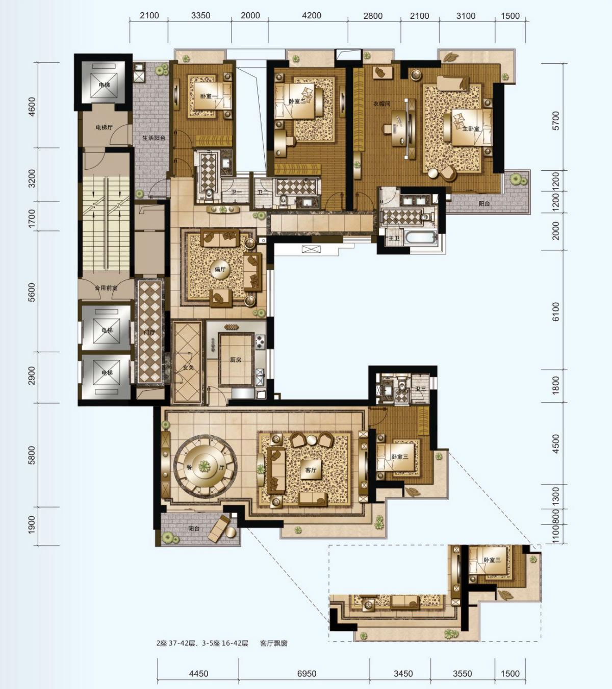 三贵别墅61115设计图