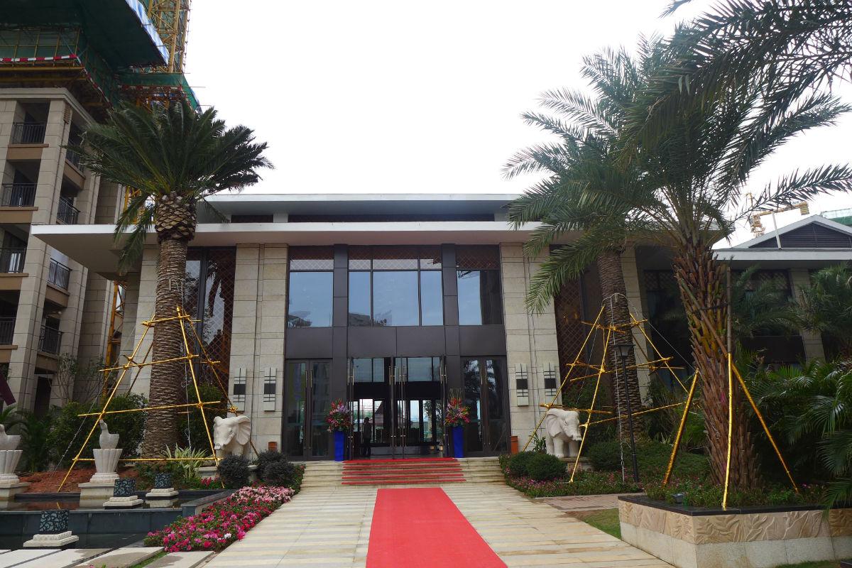 建曙高尔夫1号采用了东南亚建筑风格,给人带来一随性,自然