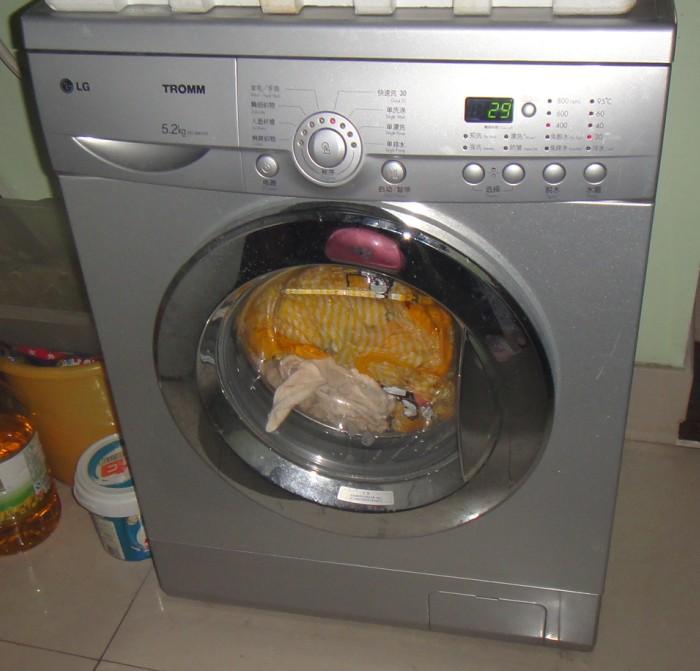 罗湖lg 5.2kg 滚筒洗衣机转让