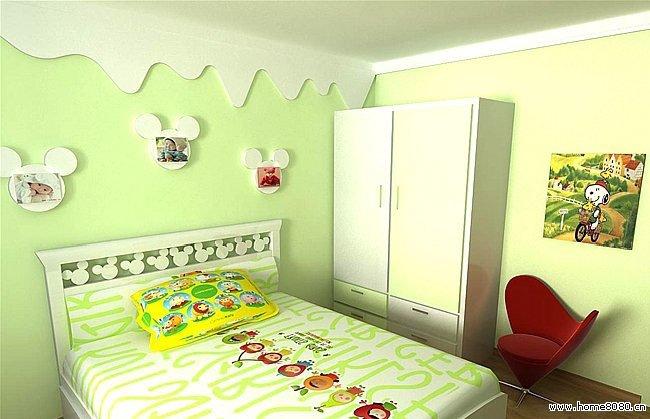 小户型儿童房装修效果参考