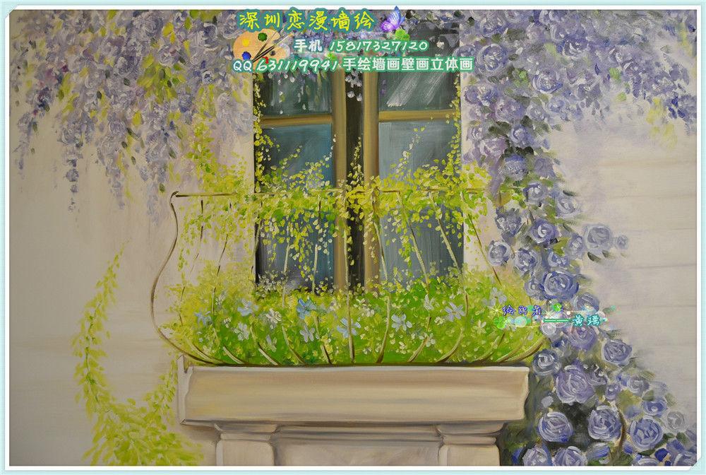 手绘墙画壁画 - 家在深圳-房网论坛