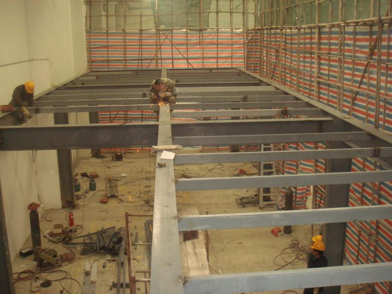 钢结构隔层隔断搭建底商别墅阁楼二层设计制作施工