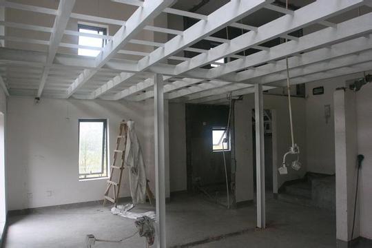 北京专业二层钢结构阁楼搭建室内隔层钢结构隔断制