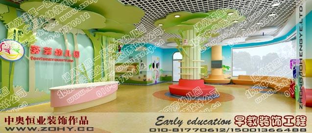 幼儿园装修设计效果图赏析