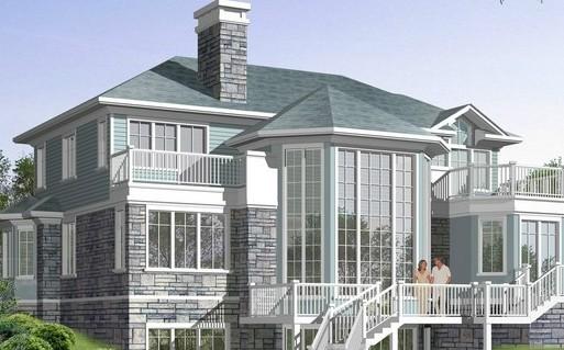 三间房子设计图 农村三间房设计