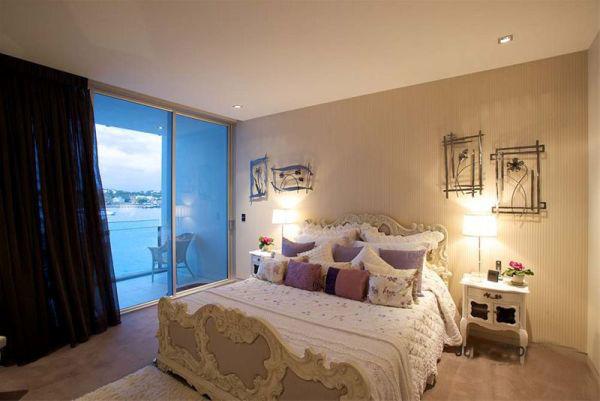 背景墙 房间 家居 酒店 设计 卧室 卧室装修 现代 装修 600_401
