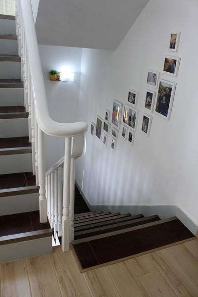 有木有看到可爱的楼梯灯呀?