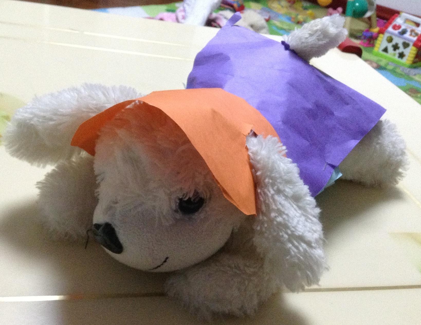 豌豆的折纸手工