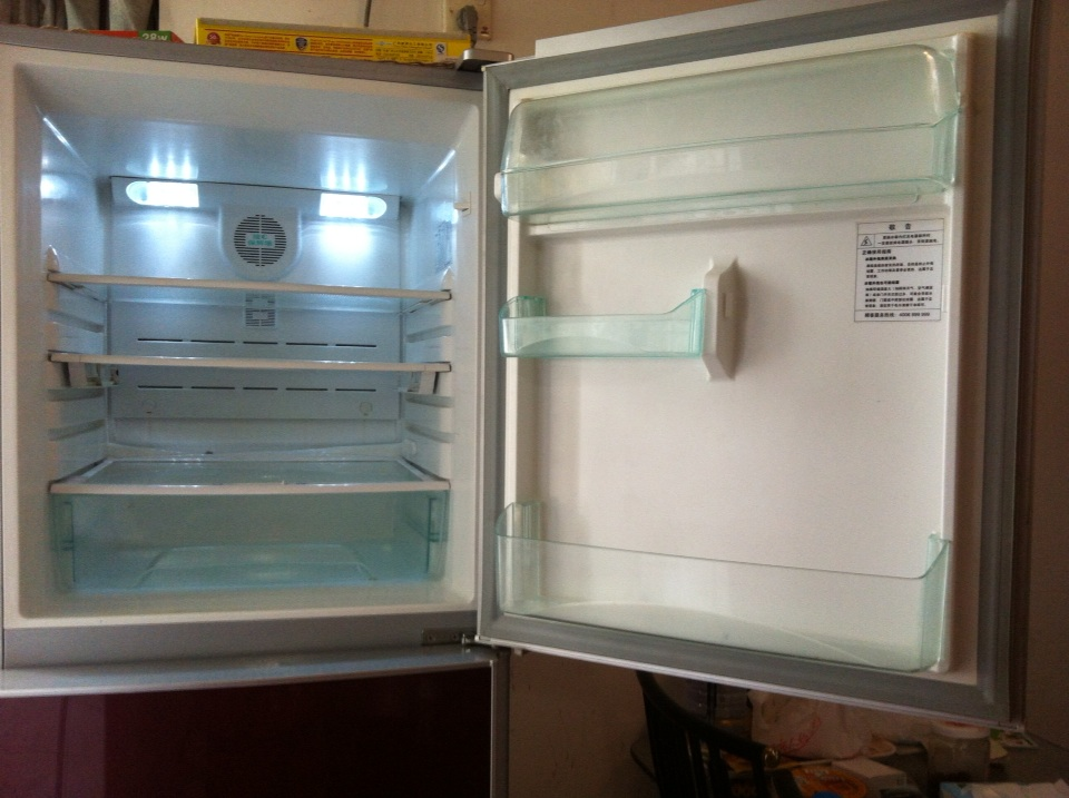转海尔3开门冰箱