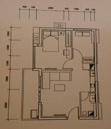 我两有一套30平米;63平米的房子.图片