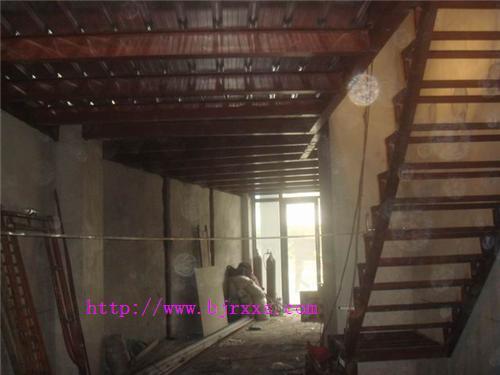 北京室内夹层钢结构制作88683005房屋阁楼隔层改造二