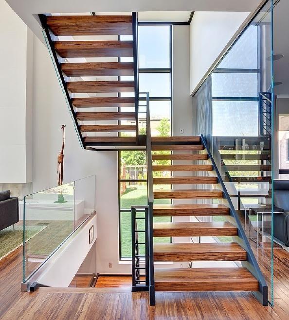 室内楼梯设计图   跃层楼梯设计图-搜房装修效果图   跃层楼