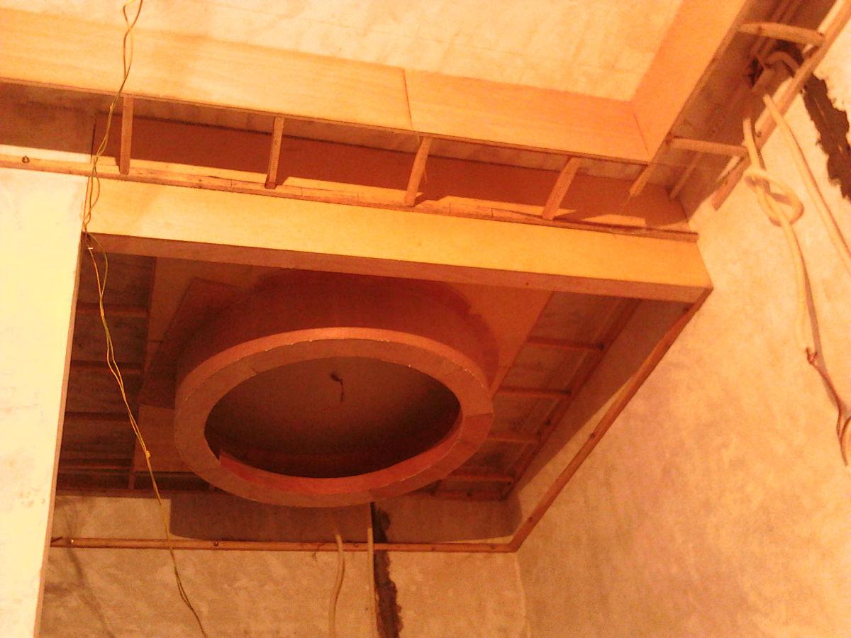 吴师傅 装修日记----木工吊顶(造型顶,灯槽,平顶)--坪山 2014-03-20