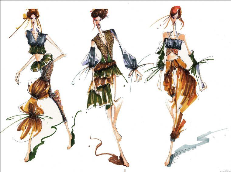购物 五花八门  > 服装设计运用各种服装知识图片