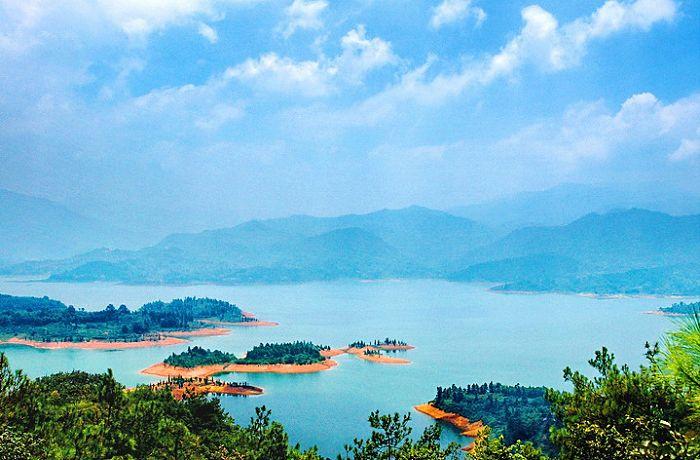 南天湖风景区地图