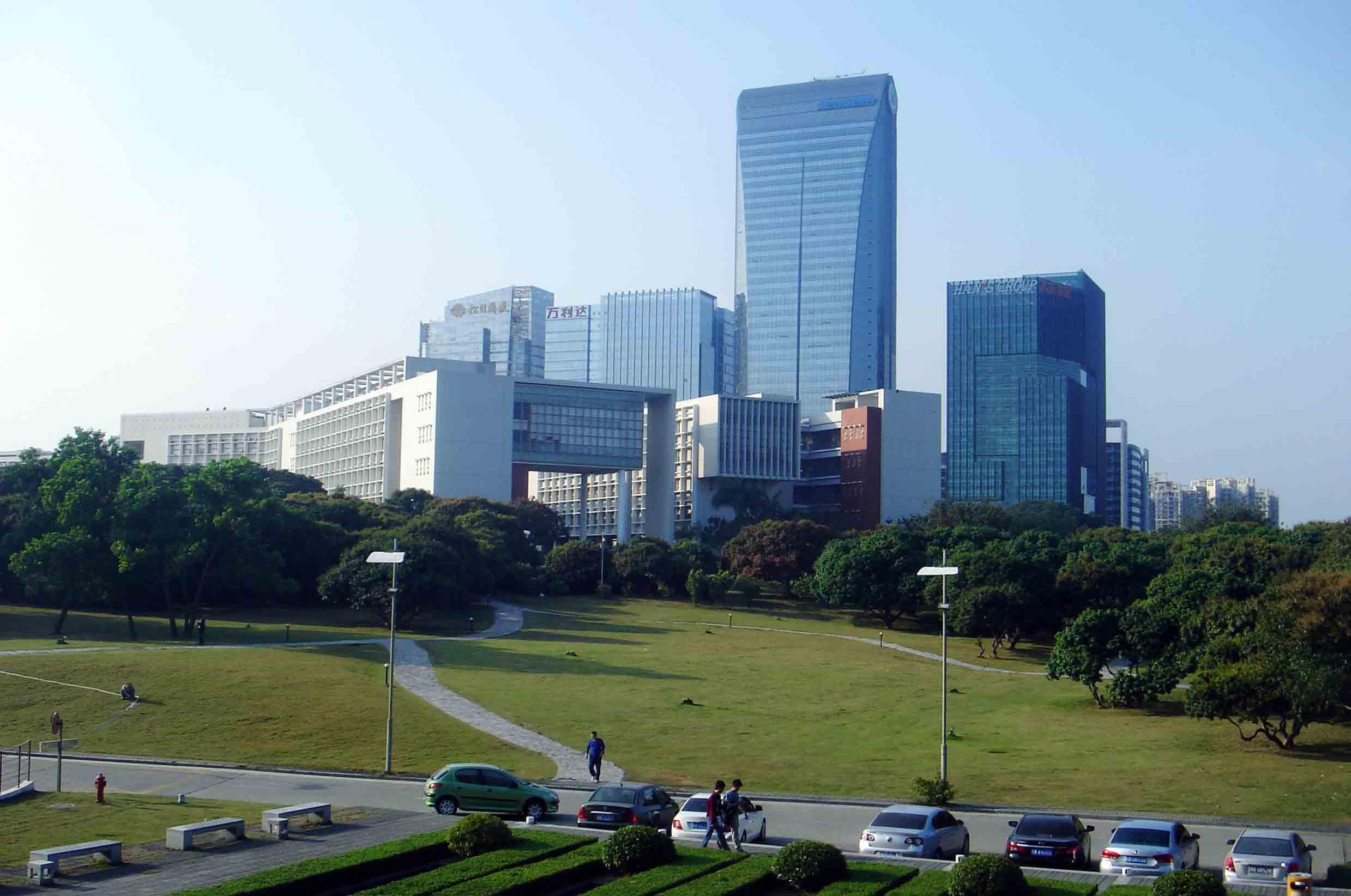 深圳南山科技园,正在打造中国第一科技cbd区!