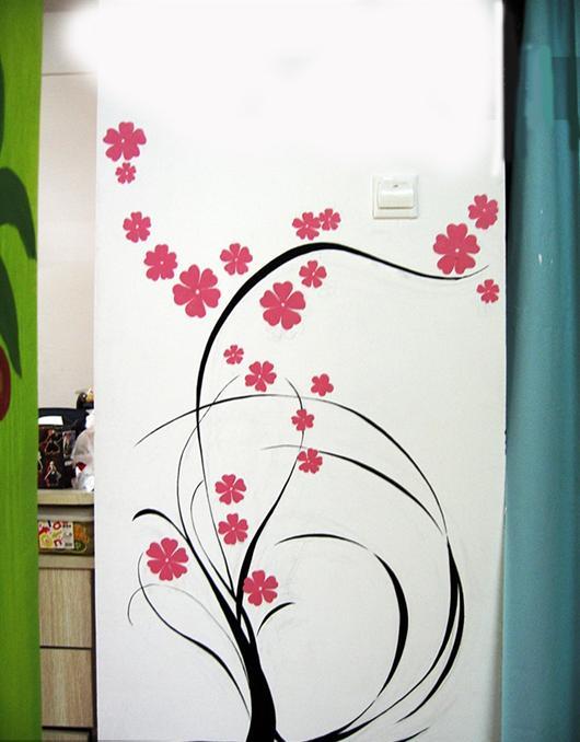 房网墙绘壁画手绘墙 缤绘墙绘专帖