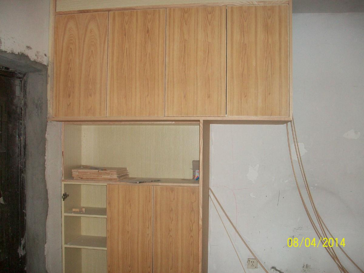 深圳木匠师傅制作的衣柜