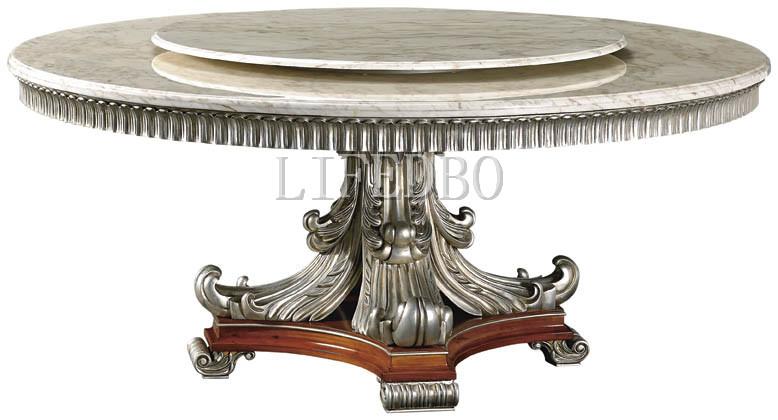 欧式圆餐桌尺寸