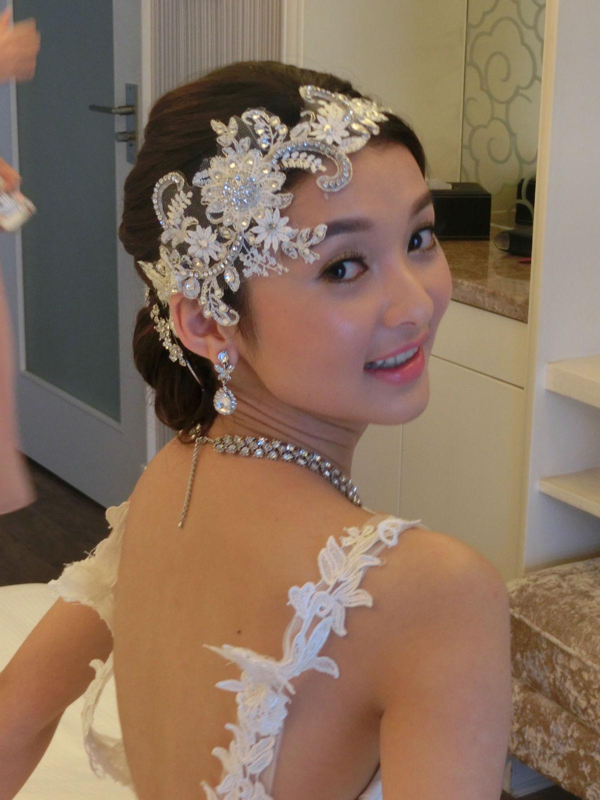 如今是美美的新娘