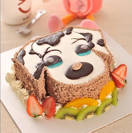 创意狗蛋糕图片大全