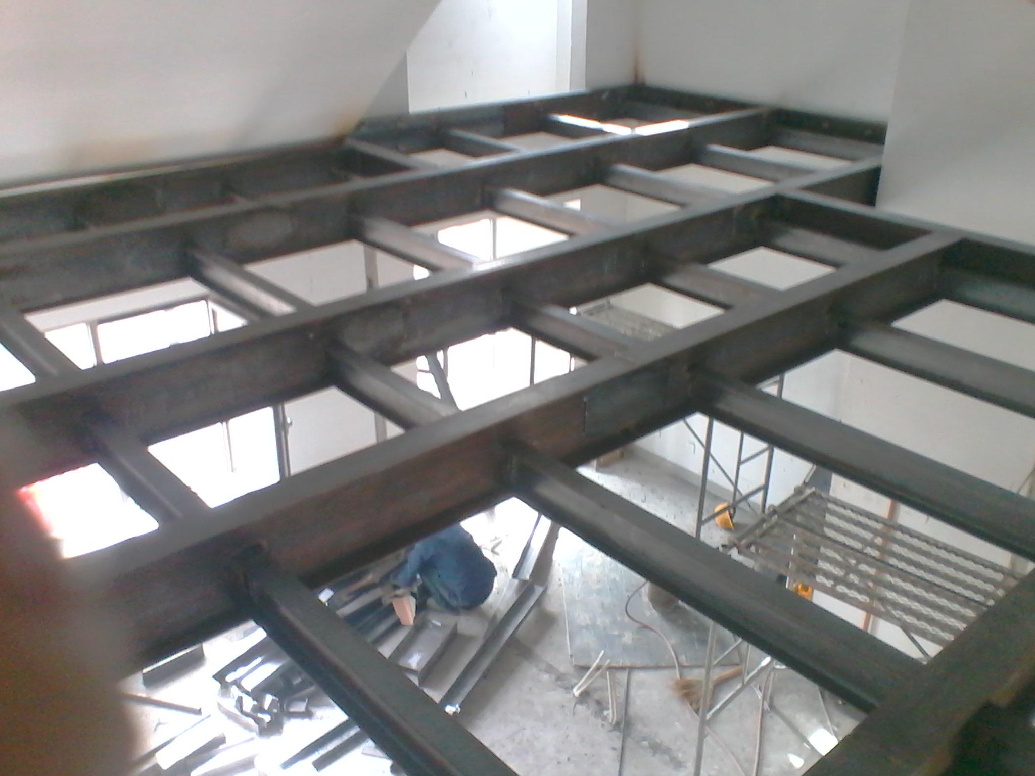 商铺105平米做钢结构阁楼