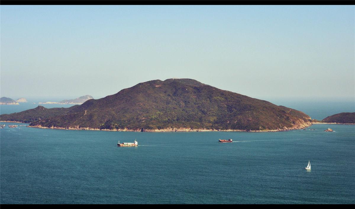 > 【街拍香港】港岛径第8段龙脊-超美的海景