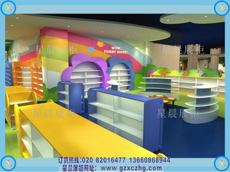 婴童店装修设计母婴展柜