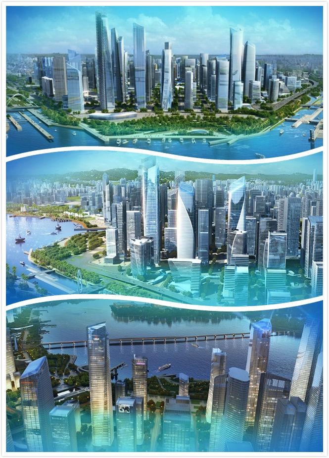 深圳前海规划建设图文纪实图片