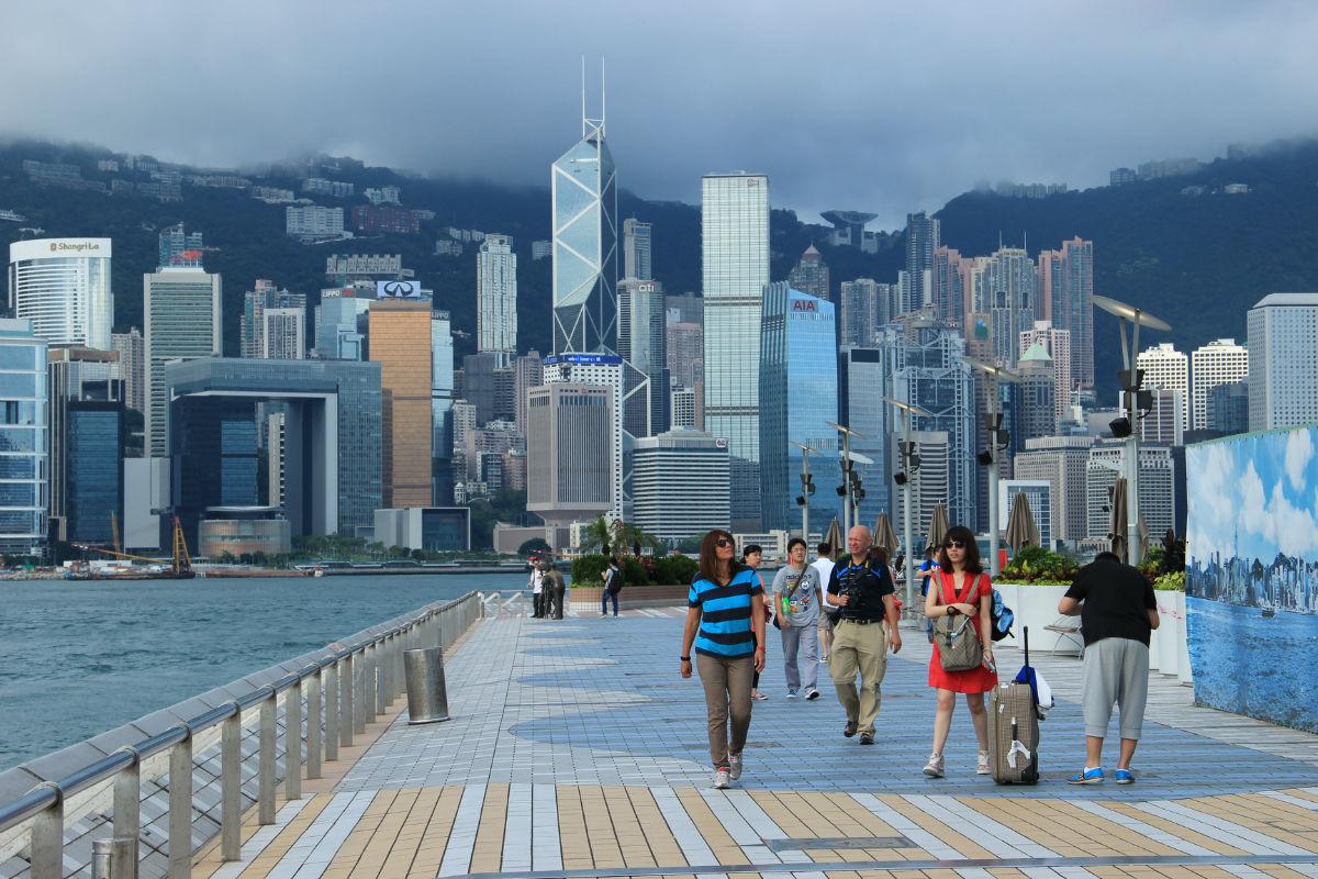 香港星光大道_【街拍香港】星光大道