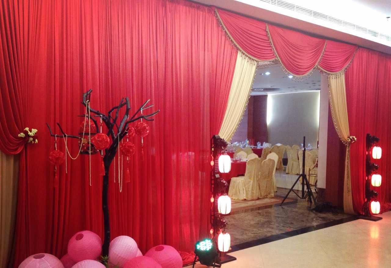 婚礼布置分享,大红色系也可以很浪漫哦!超喜爱的!