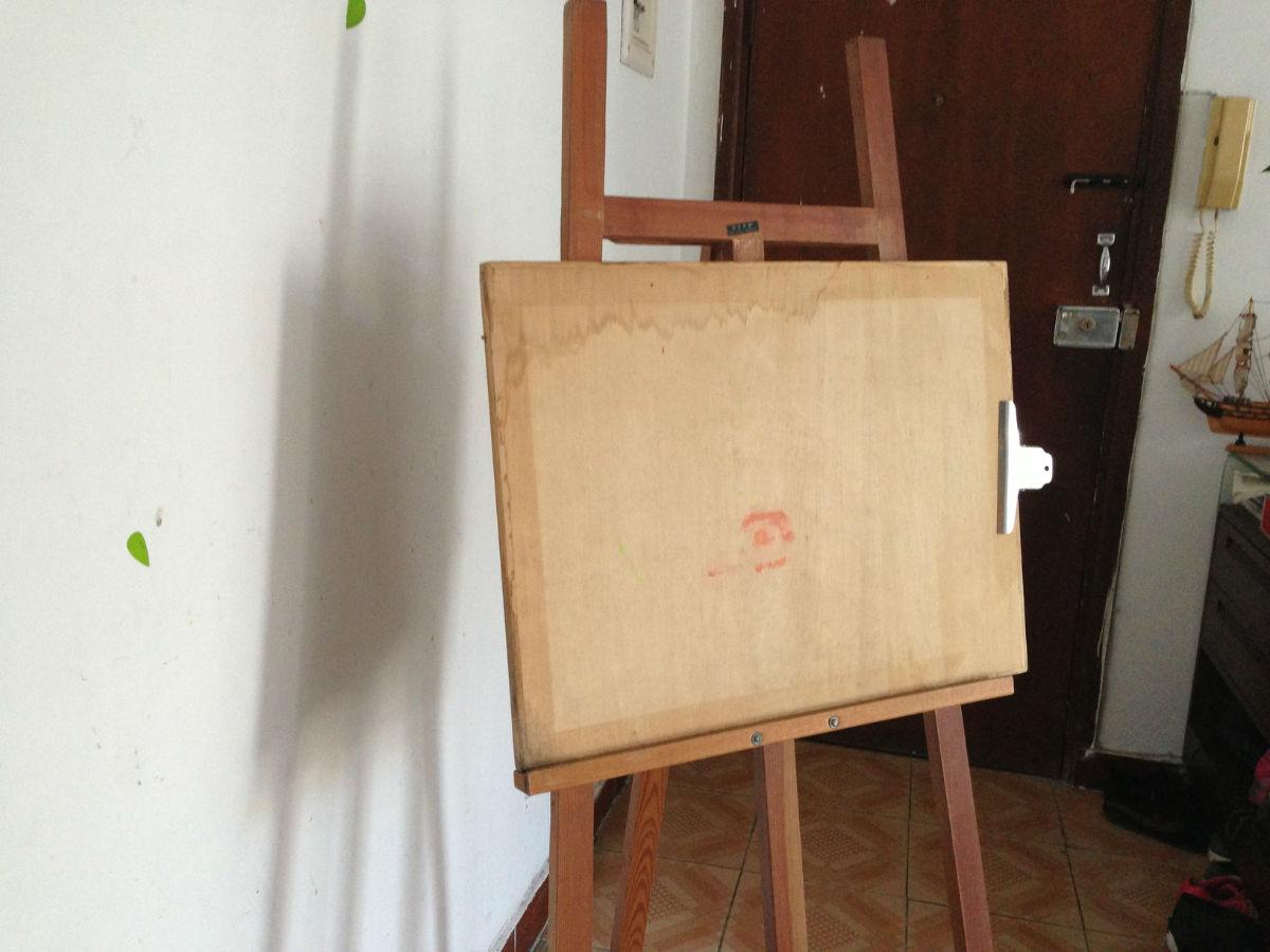 达芬奇实木画架画板