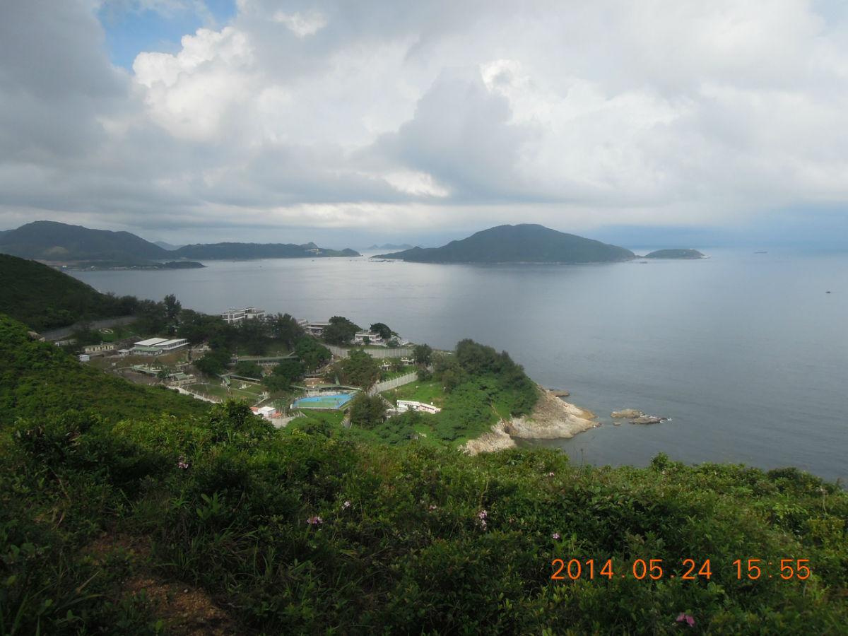 [街拍香港]港岛径第八段-小西湾(在小西湾偶遇彩虹)