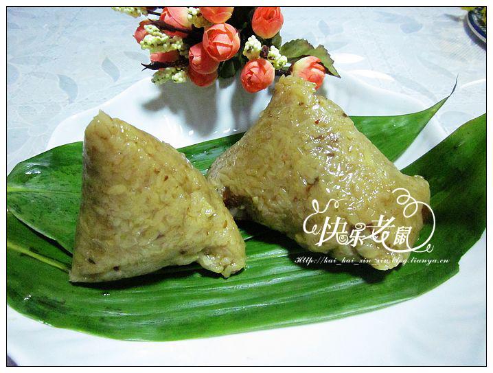 风肉粽---附:两种粽子花样包法